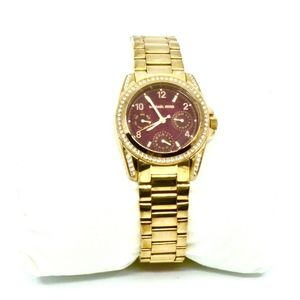 MICHAEL KORS~mini blair #6092~ROSE-GOLD WATCH